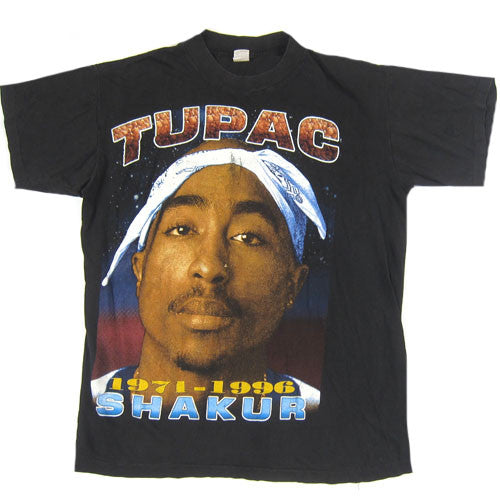 Vintage Tupac Shakur 2Pac Against All Odds T-Shirt