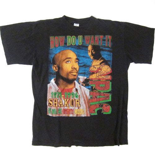 Vintage Tupac How Do You Want It T-Shirt