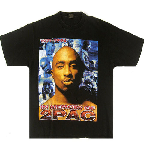 Vintage Tupac In Memory Of 2Pac T-Shirt