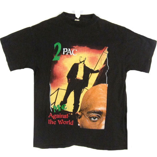 Vintage Tupac Shakur 2Pac Me Against The World T-Shirt