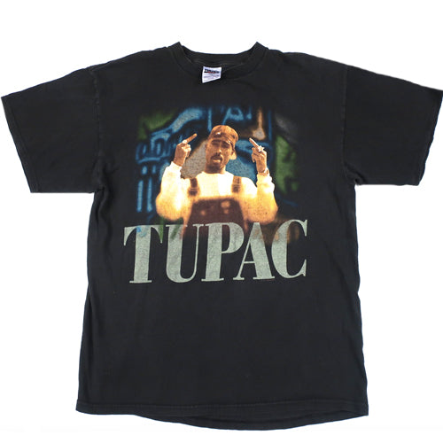 Vintage Tupac Shakur Middle Fingers T-Shirt