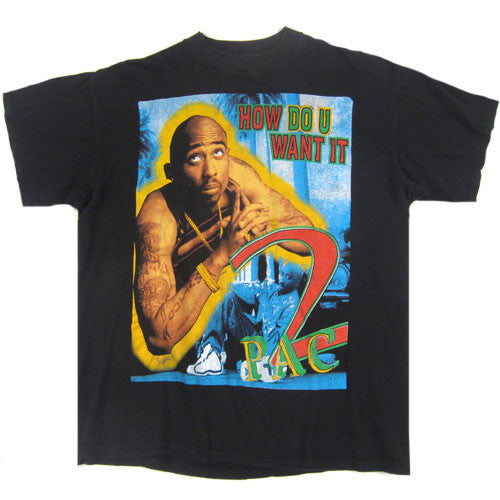 Vintage Tupac Snoop Dogg 2 of Amerikaz Most Wanted T-Shirt