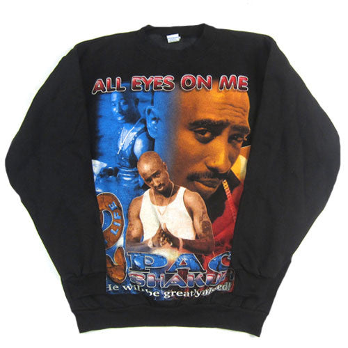 Vintage Tupac Shakur 2Pac All Eyes On Me Sweatshirt