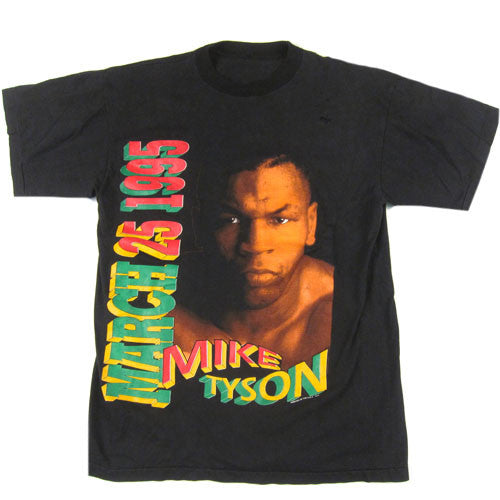 Vintage Mike Tyson March 25th, 1995 T-Shirt
