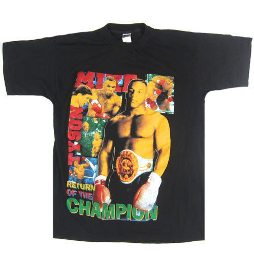 Vintage Mike Tyson Return Of The Champion T-Shirt