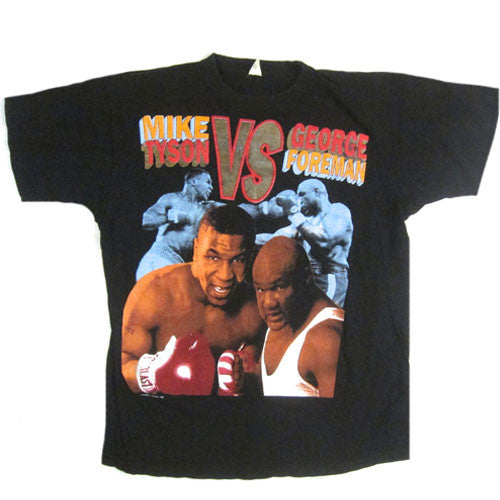 Vintage Mike Tyson vs George Foreman T-Shirt