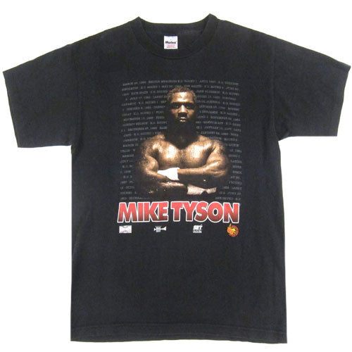 Vintage Mike Tyson He's Back 1995 T-Shirt