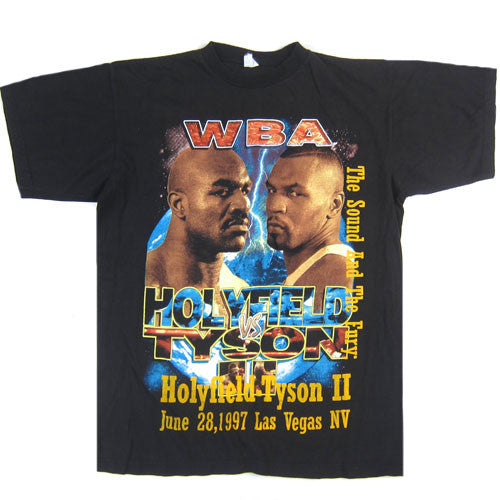 Vintage Mike Tyson Vs Evander Holyfield II T-Shirt