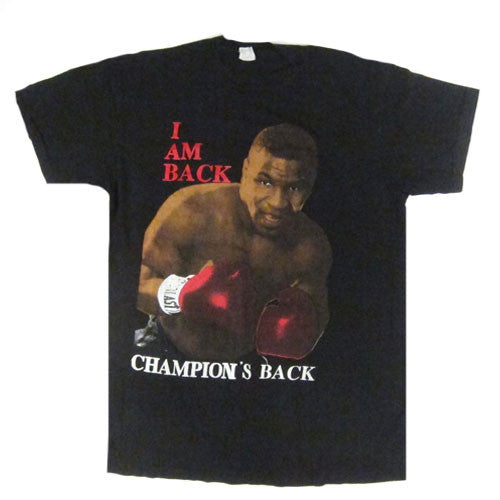 Vintage Mike Tyson I Am Back T-Shirt