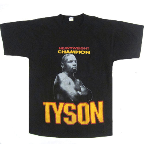 Vintage Mike Tyson Heavyweight Champion T-Shirt