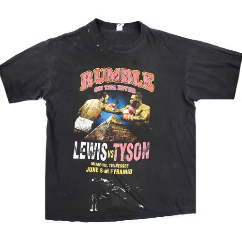 Vintage Tyson v Lewis Rumble on the River T-Shirt