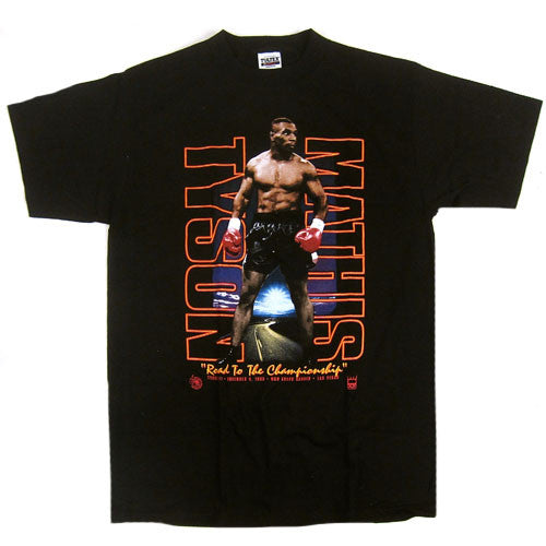 Vintage Tyson vs Mathis 1995 T-Shirt