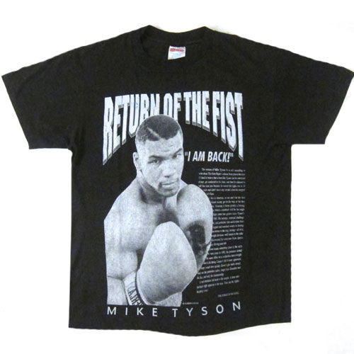 Vintage Mike Tyson Return Of The Fist T-Shirt