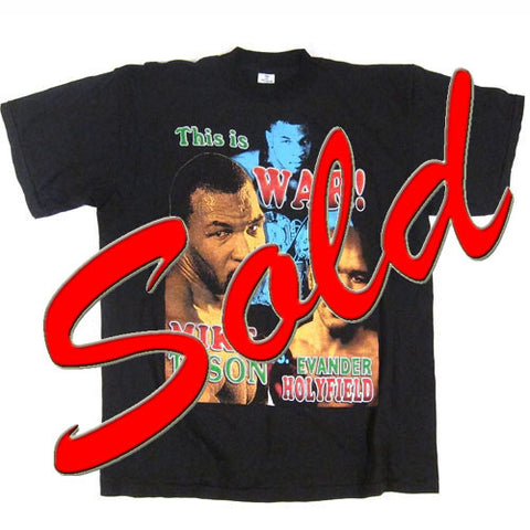 Vintage Mike Tyson This Is War T-Shirt