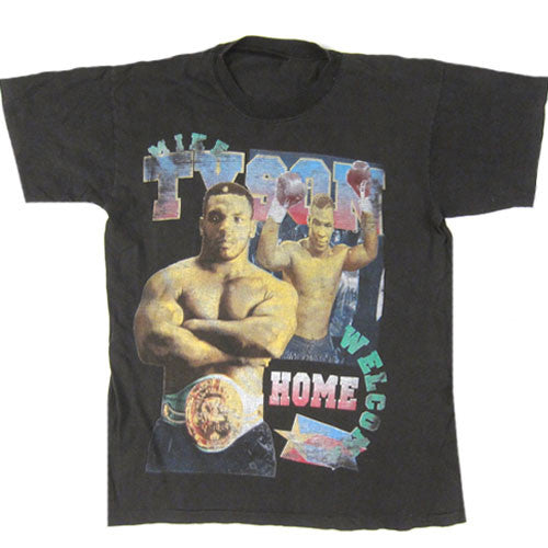 Vintage Mike Tyson Welcome Home T-Shirt