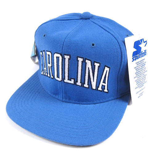 Vintage North Carolina UNC Starter snapback hat NWT