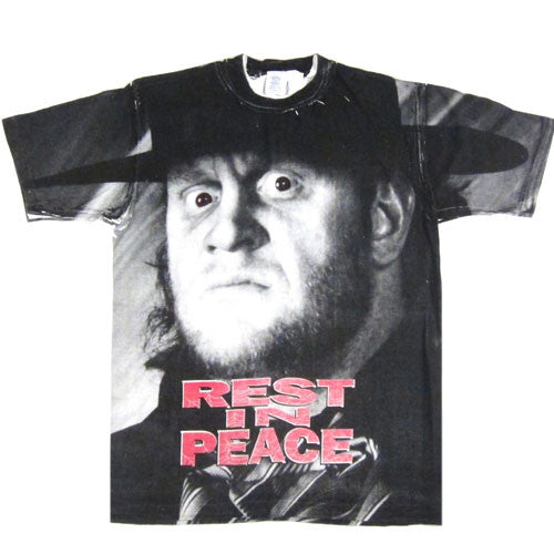 Vintage The Undertaker Rest In Peace WWF T-Shirt