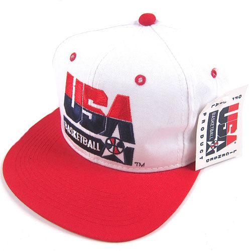 Vintage 1992 USA Dream Team Snapback Hat NWT