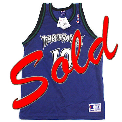 Vintage Wally Szczerbiak Minnesota Timberwolves Jersey