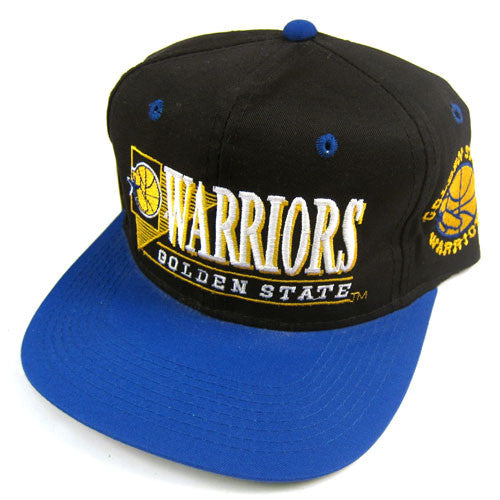 ea520792a17f5b Vintage Golden State Warriors Snapback Hat NWT Curry Thompson NBA ...