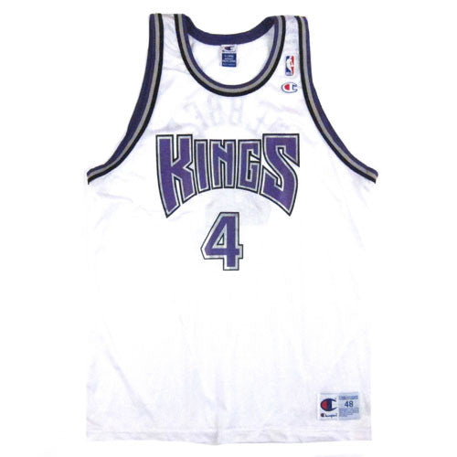 Vintage Chris Webber Sacramento Kings Champion Jersey