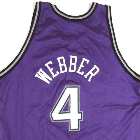 2d424686a1bc Vintage Chris Webber Sacramento Kings Champion Jersey .