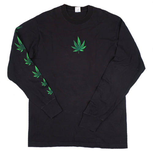 Vintage Marijuana Long Sleeve T-shirt