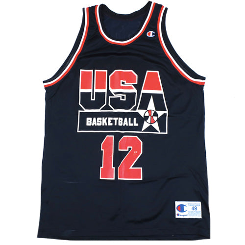 Vintage Dominique Wilkins USA Champion Jersey