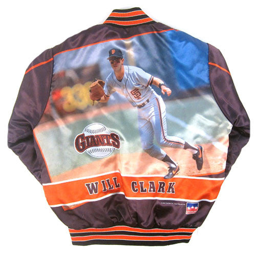 Vintage Will Clark SF Giants 1990 Jacket
