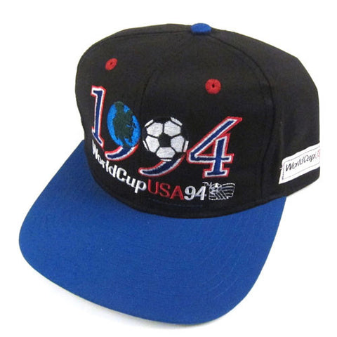 Vintage 1994 World Cup Soccer Snapback Hat NWT