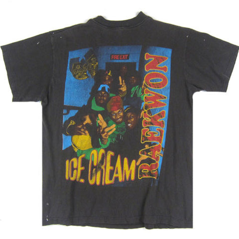Vintage Wu Tang Clan Ice Cream Raekwon T Shirt Hip Hop Rap 90 S For