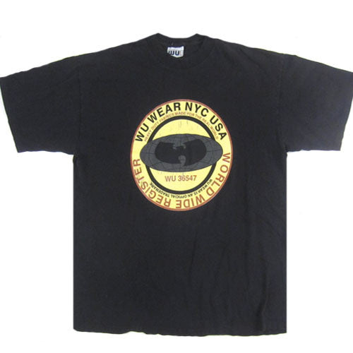 Vintage Wu-Tang Wu-Wear NYC Worldwide T-Shirt