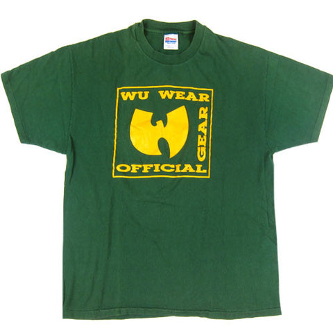 Vintage Wu-Tang Wu-Wear Official Gear T-Shirt