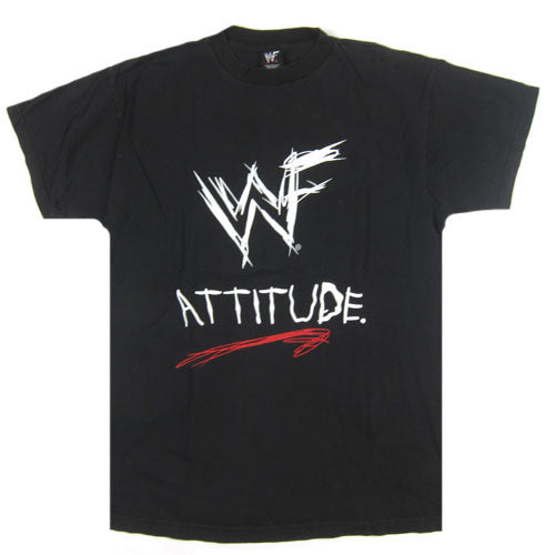 Vintage WWF Attitude Come Get Some T-Shirt
