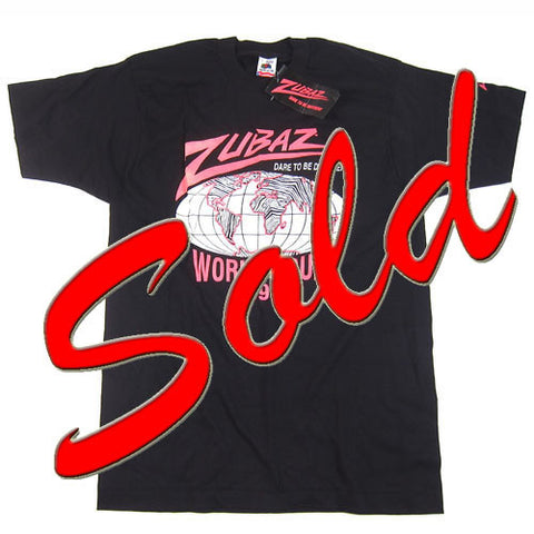 Vintage Zubaz 1990 World Tour T-Shirt