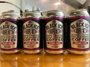 Black Ice Brew Cold Brew Cans from FreshGround Roasting