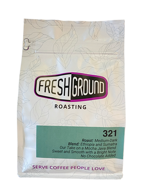 321 - Mocha Java Blend Coffee