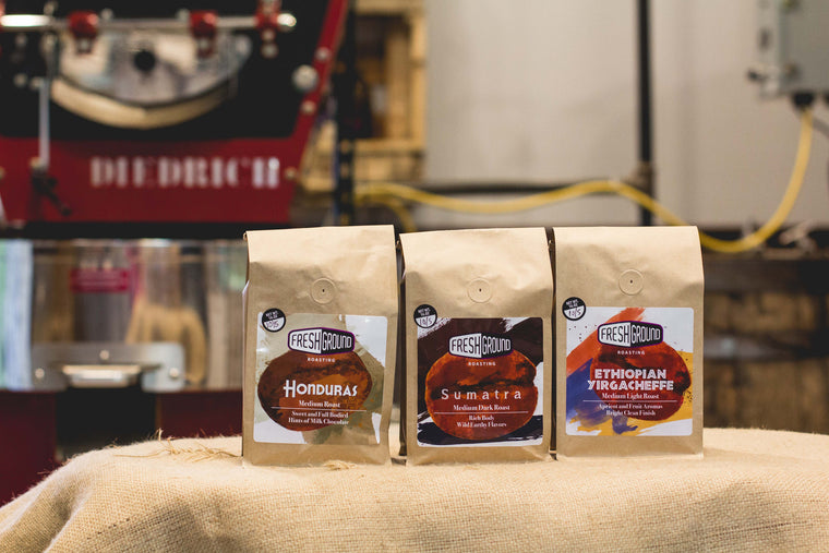 FreshGround Roasting 3 Month ReFills Coffee Subscription