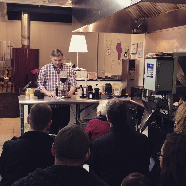 FreshGround Roasting Coffee Brewing Class - 1