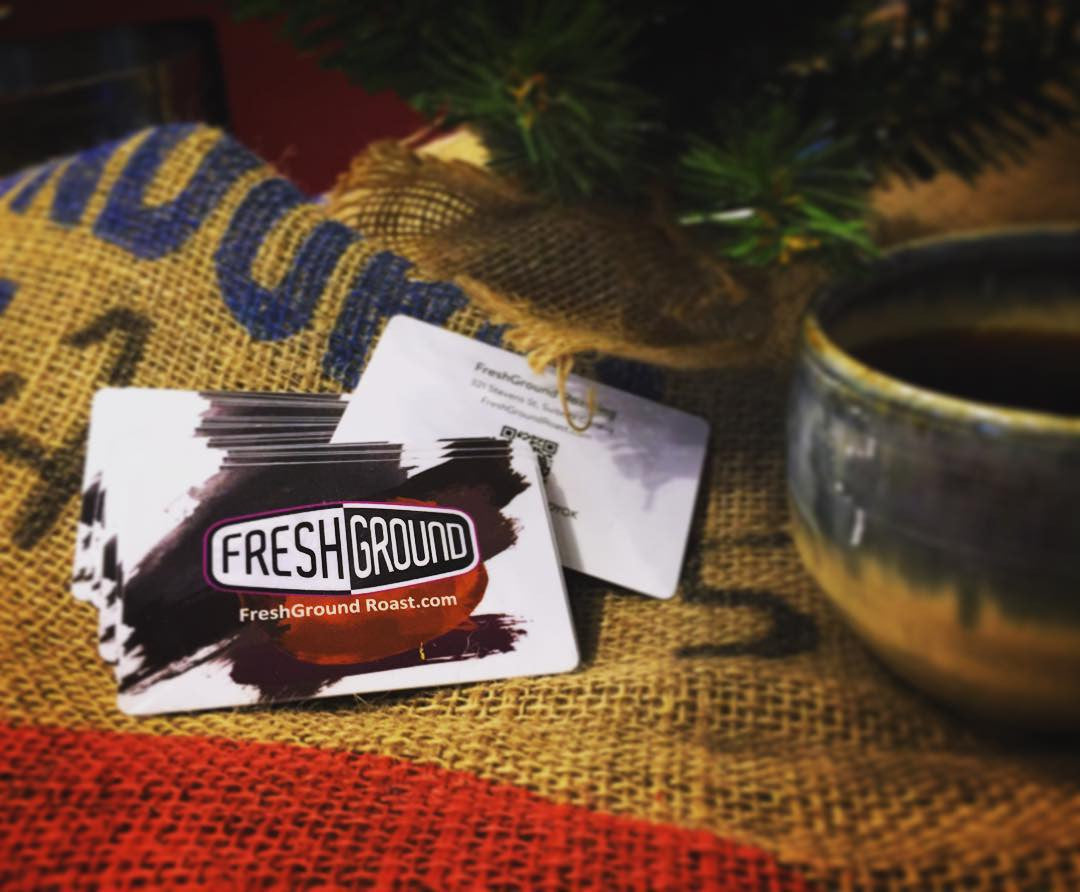 FreshGround Roasting Physical Gift Card