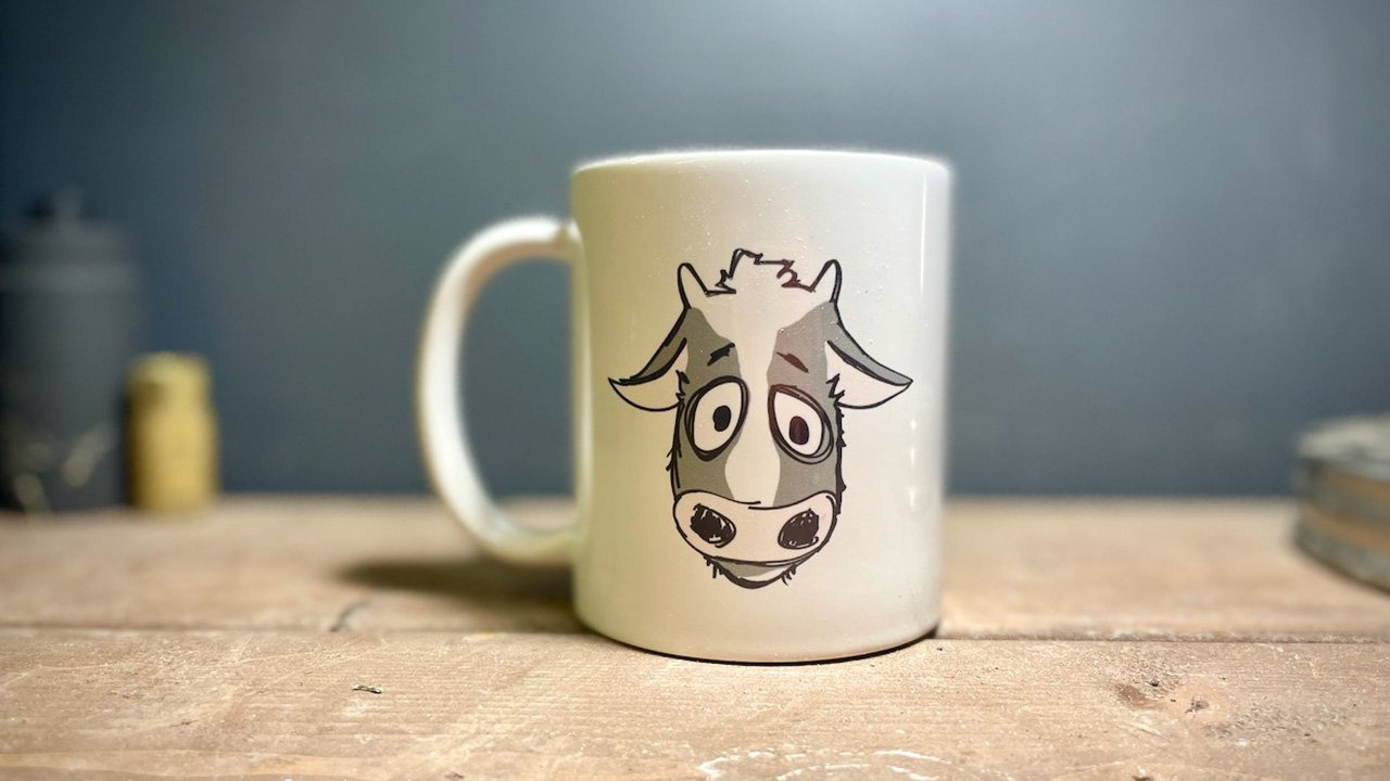 Sad Cow Coffee - Got Decaf Mug