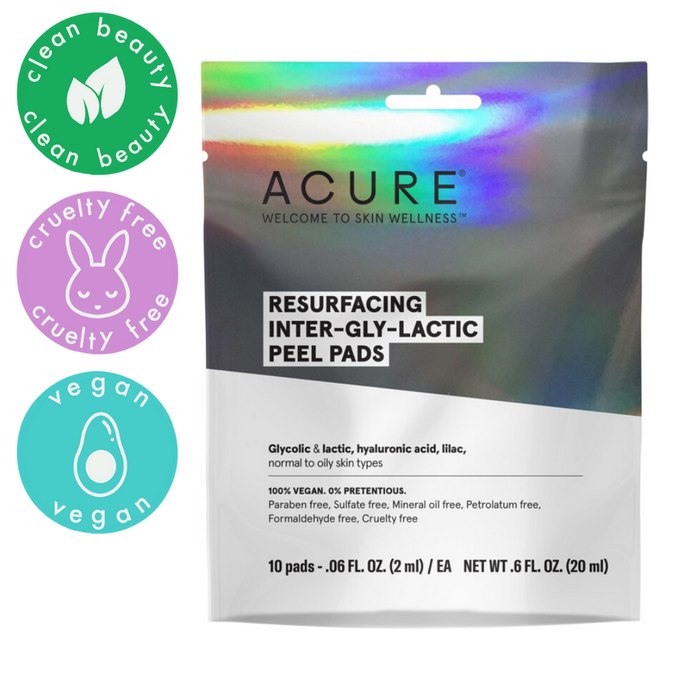Resurfacing Inter-Gly-Lactic Peel Pads