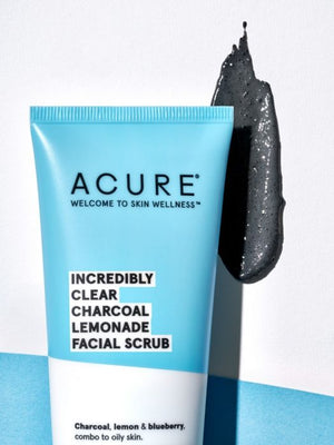 Incredibly Clear Charcoal Lemonade Facial Scrub