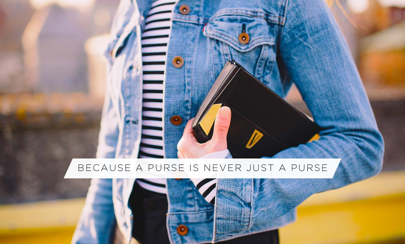 Because A Puse Is Never Just A Purse