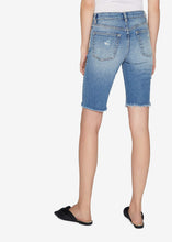 Load image into Gallery viewer, Carlin Distressed Denim Shorts