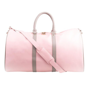 Load image into Gallery viewer, Pink Weekender Duffle Bag