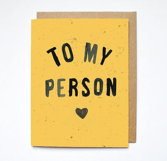 Card- To My Person