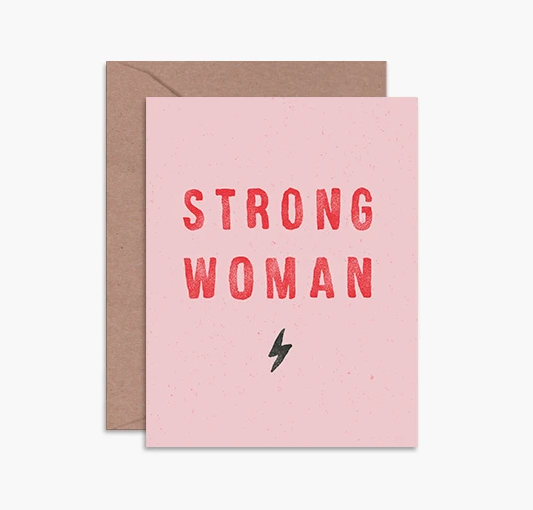 Load image into Gallery viewer, Card- Strong Woman