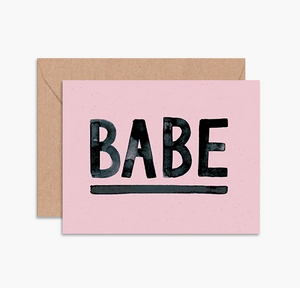 Load image into Gallery viewer, Card- Babe