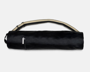 Yoga Mat Bag- Black Canvas